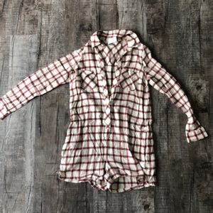 NWT Abercrombie & Fitch size S pajama romper